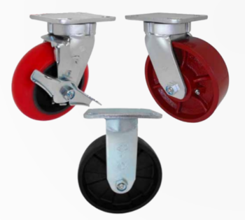 45/46 Medium Heavy Duty Kingpinless Series Casters