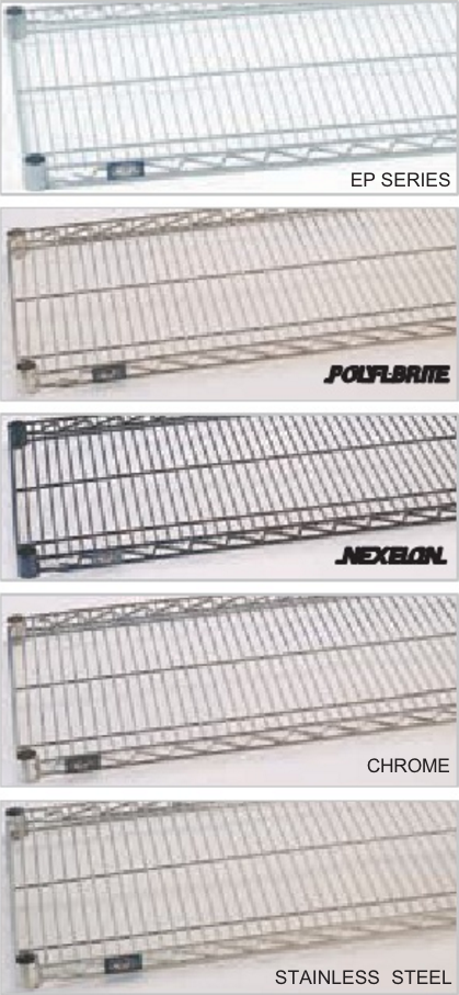 Wire Shelving Available At Casters Of Amarillo Inc