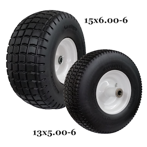 American made Flat-Free wheel assemblies manufactured by Amerityre Corporation
