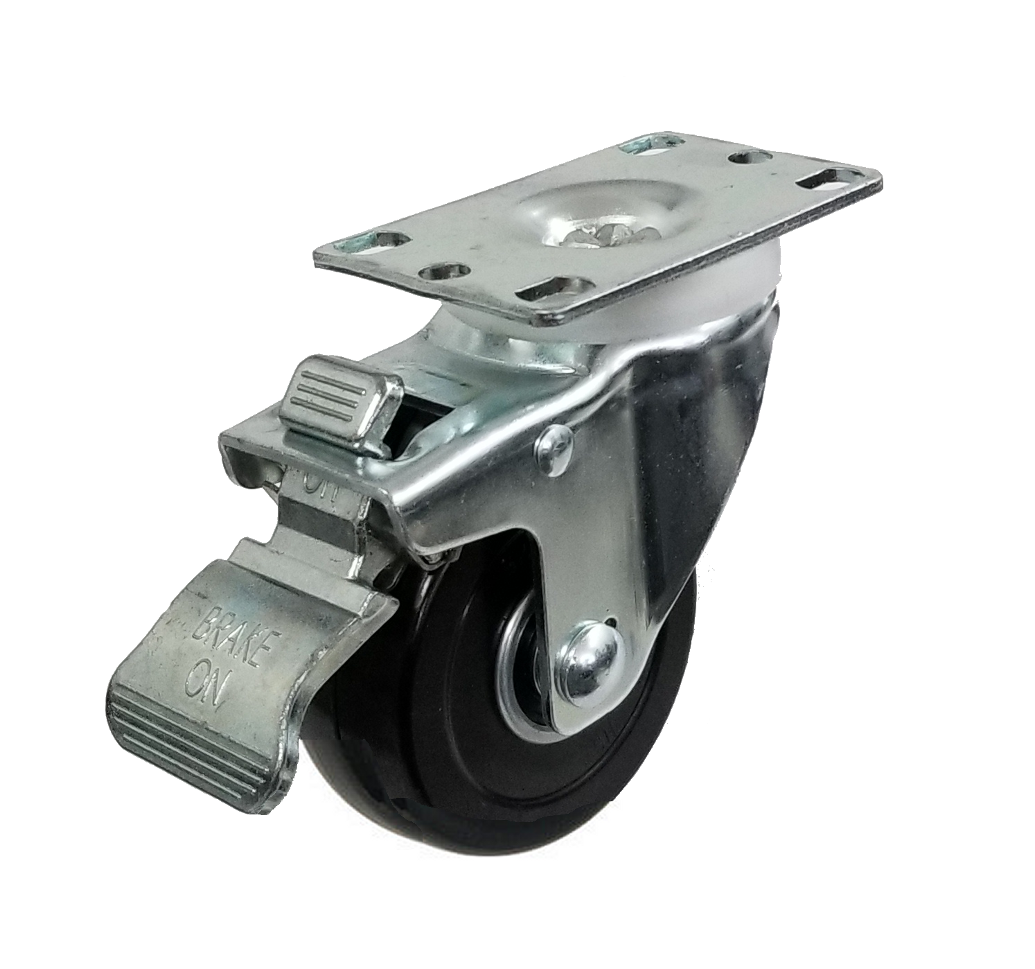 total-lock swivel caster